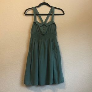 Gently worn olive imaginary voyage dress medium